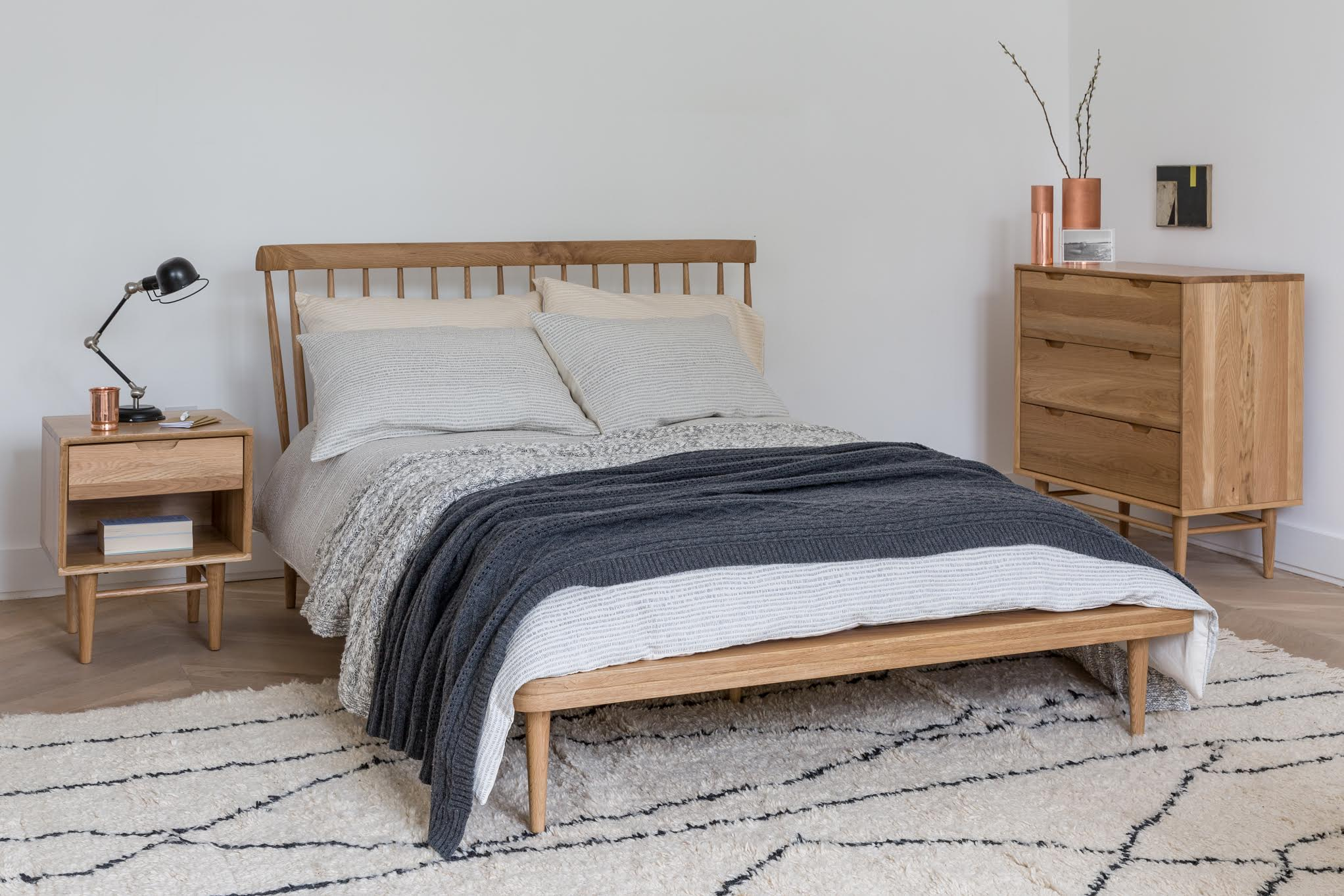 20 Of The Best Minimal, Scandi Style Bedside Tables