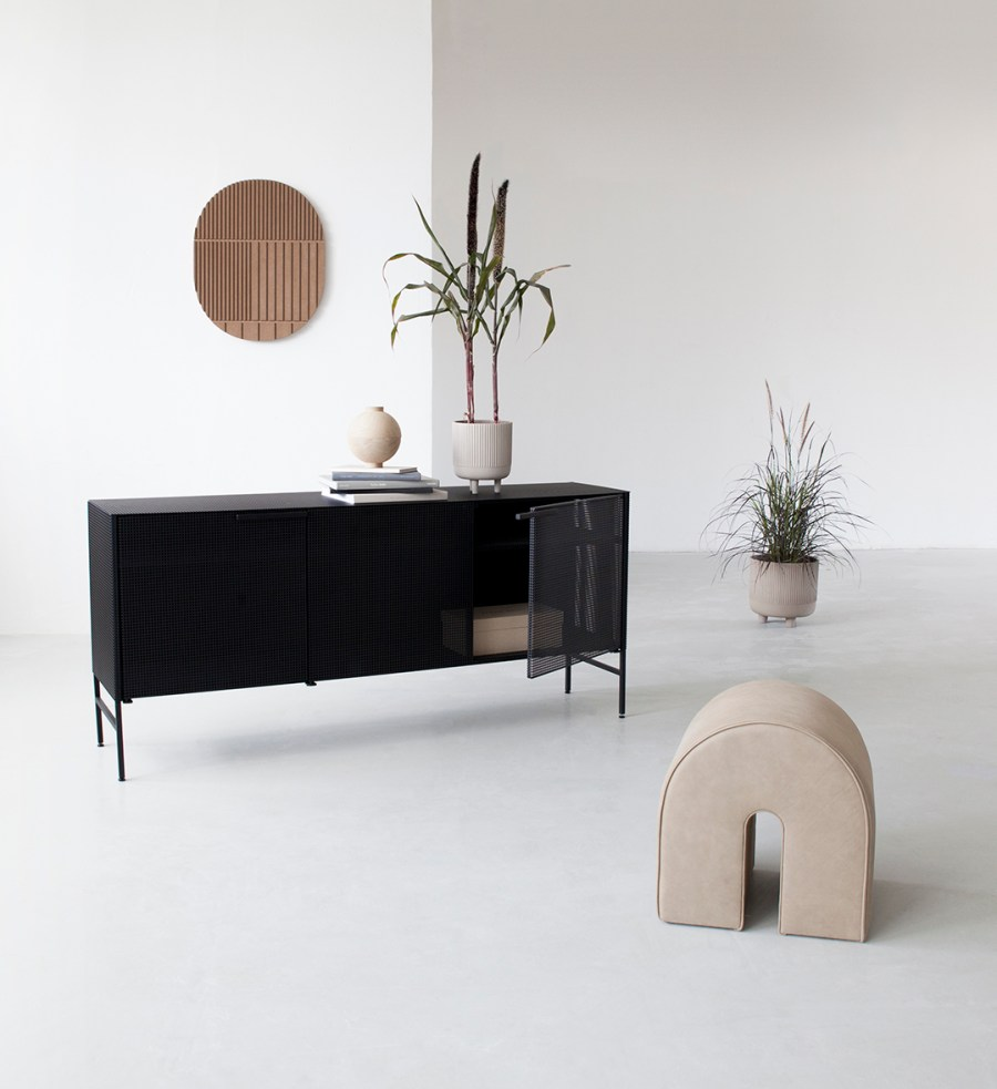 Grid sideboard - Kristina Dam - 12 of the best minimal, Scandinavian-style sideboards