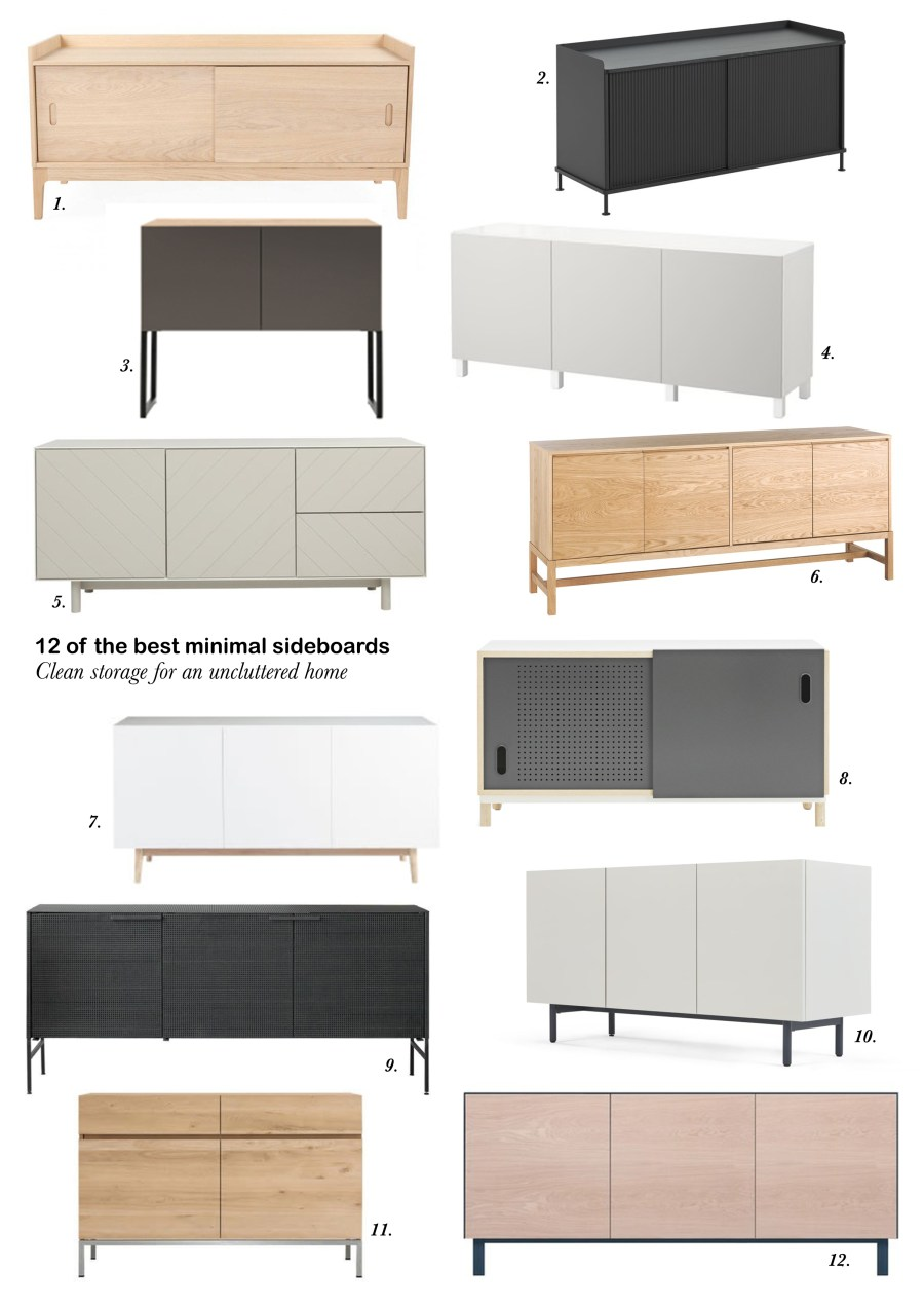 12 of the best minimal, Scandinavian-style sideboards