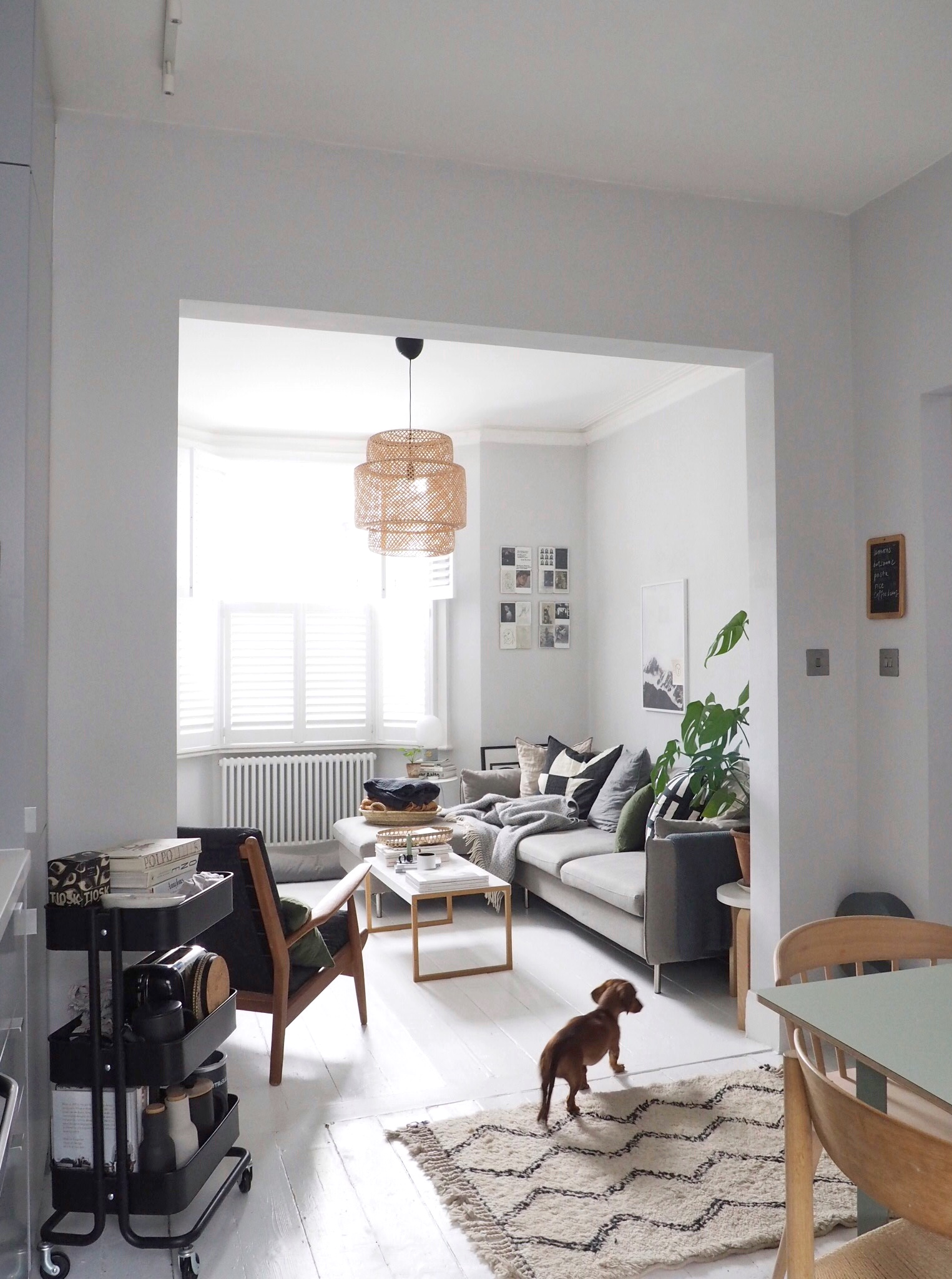 Charmant Cate St Hill   Simple Interior Design   Scandinavian Style Living Room