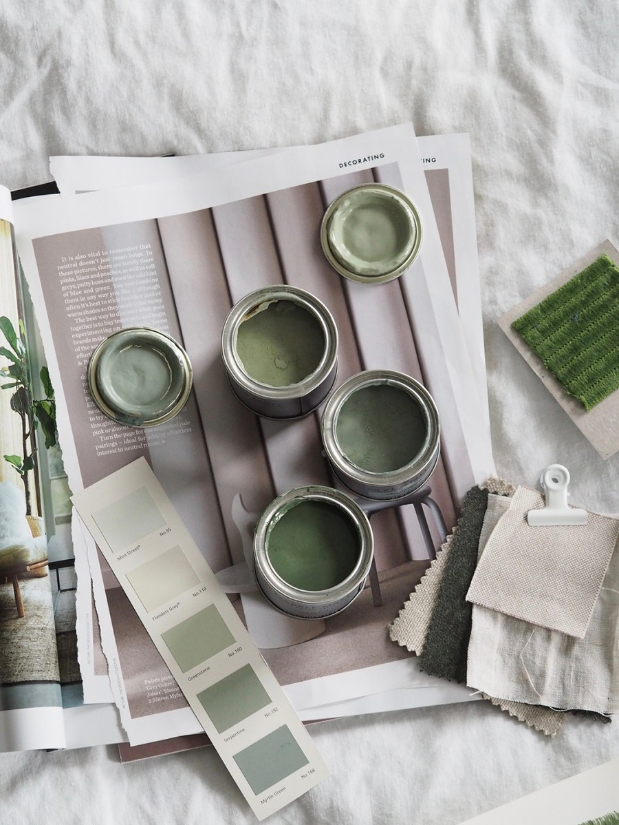 A simple, forest green bedroom makeover – the before
