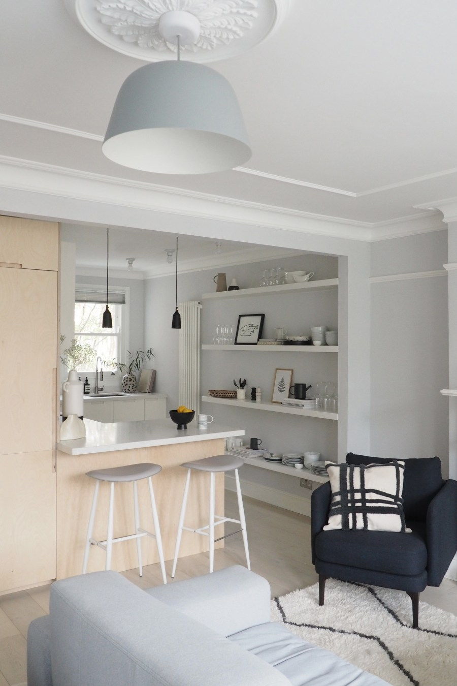 New interior project: a light-filled, minimalist kitchen and ...
