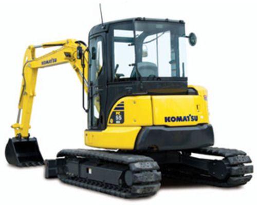 Komatsu PC55MR-3 Excavator Service Repair Manual