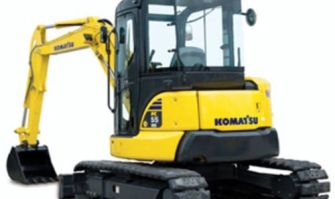 Komatsu PC55MR-3 Excavator Service Repair Manual
