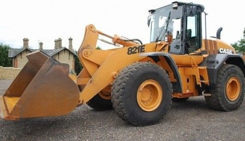 CASE 821E TIER 3 EU WHEEL LOADER WORKSHOP REPAIR MANUAL