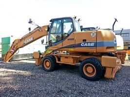 CASE Tier 3 WX145, WX165, WX185 Series 2 Excavator Service Repair Manual