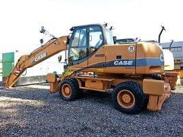 CASE Tier 3 WX145, WX165, WX185 Series 2 Excavator Service Repair Manual