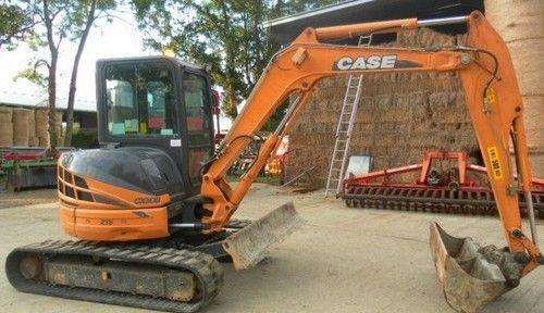 CASE CX40B CX50B Mini Excavator Service Repair Manual