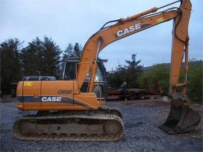 Case Cx130 Cx130lc Cx130lr Crawler Excavator Service Repair Manual Set