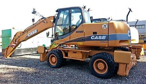 Case Wx145 Wx165 Wx185 SERIES 2 TIER 3 Excavator Service Repair Manual