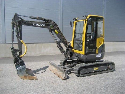 Volvo Ecr38 Compact Excavator Service Repair Manual
