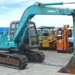 Kobelco SK60 Hydraulic Crawler Excavator Service Repair Manual – Pdf Workshop