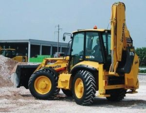 Komatsu Wb97s-5 Backhoe-loader Service Repair Workshop Pdf Manual