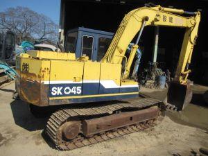 Kobelco SK045, SK045-2, SK050 Hydraulic Mini Excavator Workshop Service Repair Manual