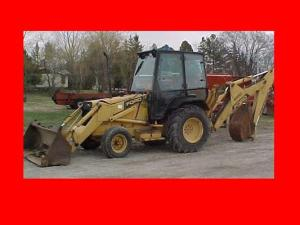 New Holland Ford 455c 555c 655c Tractor Loader Backhoe Workshop Service Manual