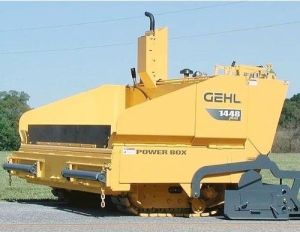 1438 1448 PowerBox Self Propelled Paver Operator's Manual