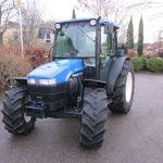 New Holland Tn70d Tractor Service Parts Catalog List Manual Book