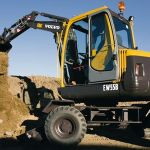 Volvo Ew55b Wheel Excavator Service Repair Manual