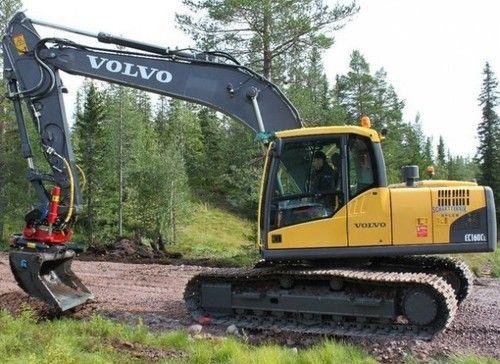 Volvo Excavator Repair Manual ec160