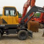 Volvo Ew55b Compact Excavator Service Parts Catalogue Manual