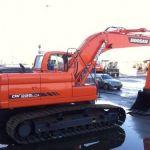 Daewoo Doosan Dx225lca Crawler Excavator Service Parts Manual