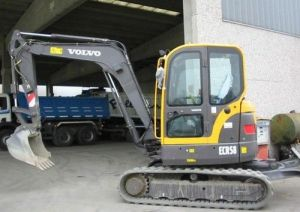 Volvo Ecr58 Compact Excavator Service Parts Catalogue Manual