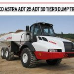 Astra Adt 25 Adt 30 Tier3 Dump Truck Workshop Repair Manual