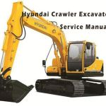 Hyundai R80-7A Crawler Excavator Workshop Service Repair Manual