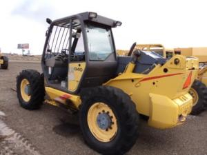New Holland LM840 LM850 LM860 Telehandler Operators Manual