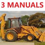 Case 580c Tlb Tractor Service Manual, Owners & Parts Catalog