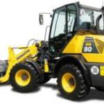 Komatsu WA65, WA75, WA80 Wheel Loader Repair Service Manual
