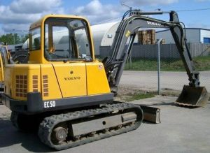 Volvo Ec50 Compact Excavator Service Parts Catalogue Manual