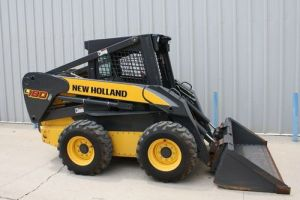 New Holland L180 L185 L190 Skid Steer Loader C185 C190 Loader Operators Manual