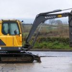 Volvo Ec55b Compact Excavator Service Parts Catalogue Manual