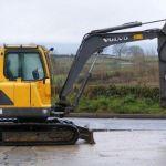 Volvo Ec55b Compact Excavator Service Parts Catalogue Manual