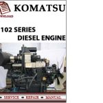 Komatsu 102 Series Diesel Engine Workshop service Repair Manual
