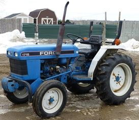 Ford New Holland 1715 Tractor Workshop Service Repair Manual