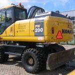 Komatsu Pw200-7h Wheeled Excavator Repair Service Manual
