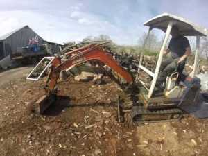 Kubota Kh-36 Excavator Workshop Repair Service Manual