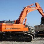 Daewoo Doosan Dx480lca Dx500lca Crawler Excavator Service Parts Manual
