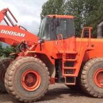 Daewoo Doosan Mega 500-v Wheeled Loader Service Parts Catalogue Manual