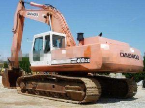 Daewoo Doosan Solar 400lc-Ⅲ Crawler Excavator Service Parts Manual