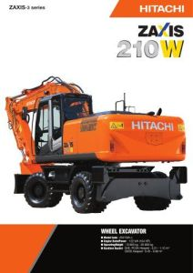 Hitachi Zaxis Zx 210 H 5g Hydraulic Excavator Factory Repair Manual