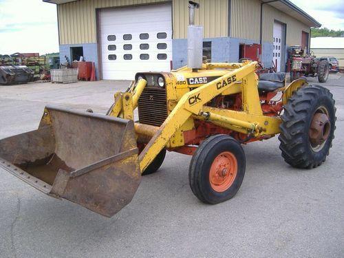 Case 480K Wheel Tractor Parts Catalog Manual