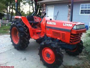 Kubota L3450 Tractor Factory Service Manual