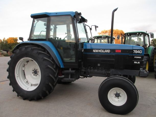 Ford New Holland 7840 Tractor Service Repair Manual
