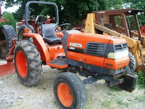 Kubota L2900f Tractor Parts Manual