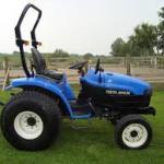 New Holland Tc27d Tractor Dutch Operators Manual