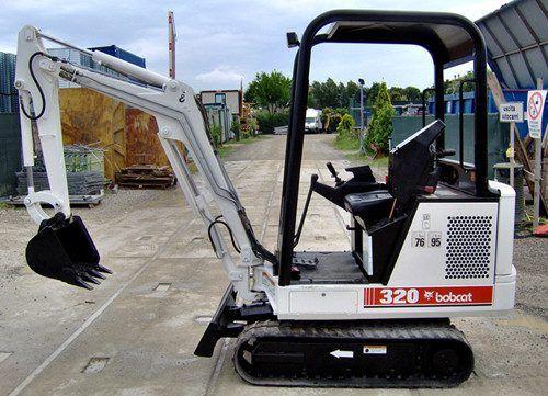 Bobcat 320 320L 322 D Series Excavator Service Repair Manual