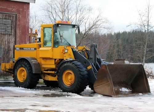 Volvo BM L120C Wheel Loader Service Parts Catalogue Manual